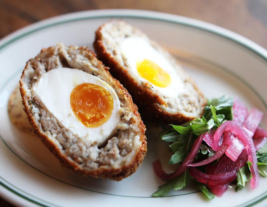 Fenians Pub Restaurants in Jackson MS Scotch Egg