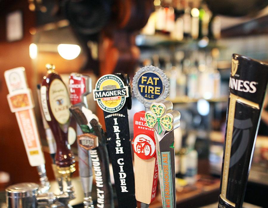 Fenians Pub Restaurants in Jackson MS Beer on Tap