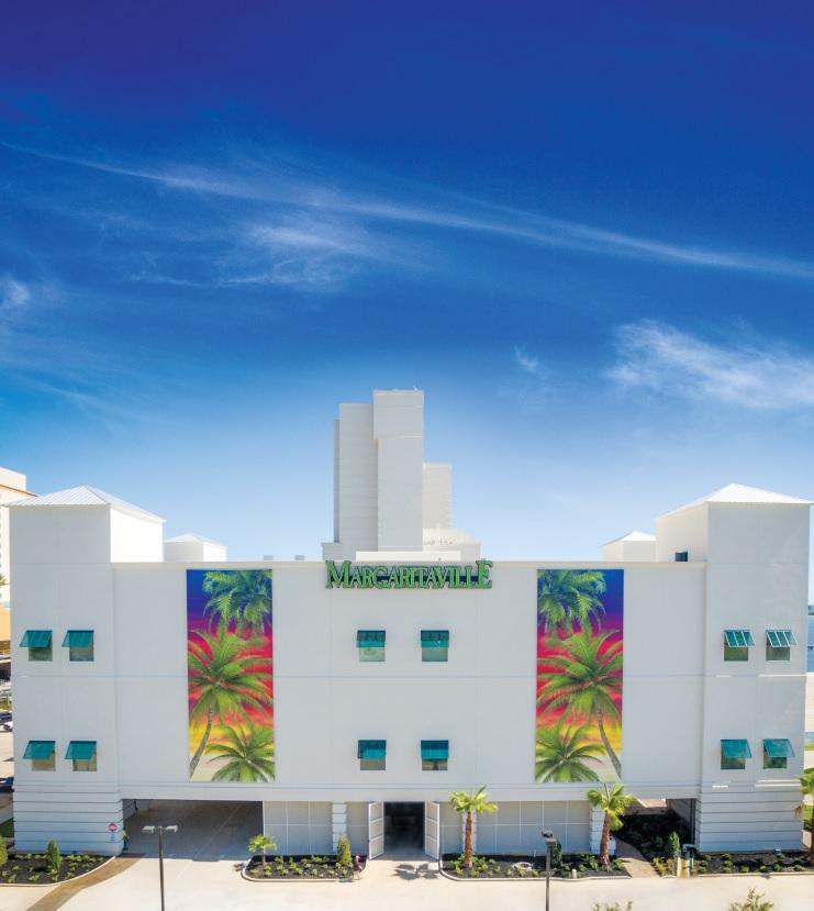 Margaritaville-Front of building